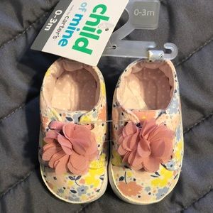 NWT. Carter's (child of mine) shoes
